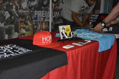 HOPE Music Merchandise Booth