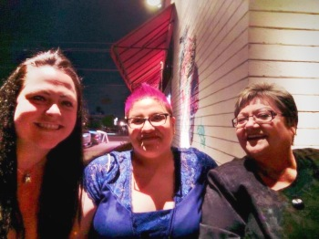 Stacey, me, mom